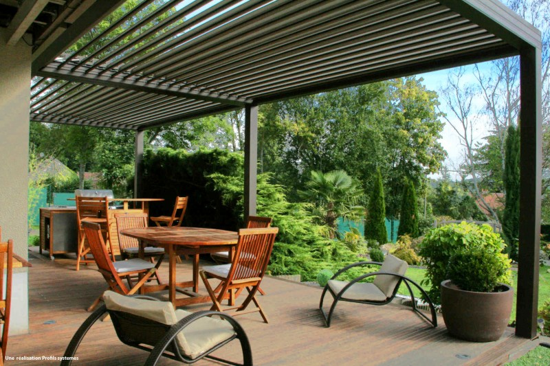 realiser une pergola affordable merveilleux comment realiser une terrasse prix pergola comment. Black Bedroom Furniture Sets. Home Design Ideas
